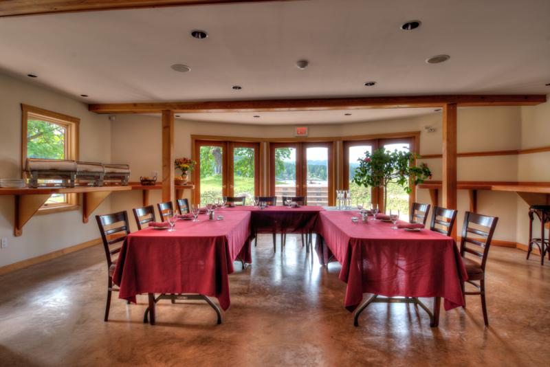 Heriot Bay Inn Meeting Room