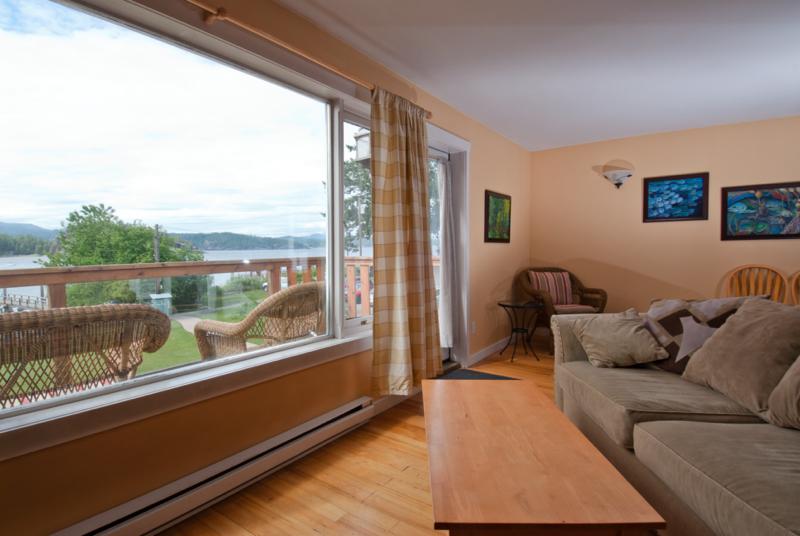 Heriot Bay Inn View