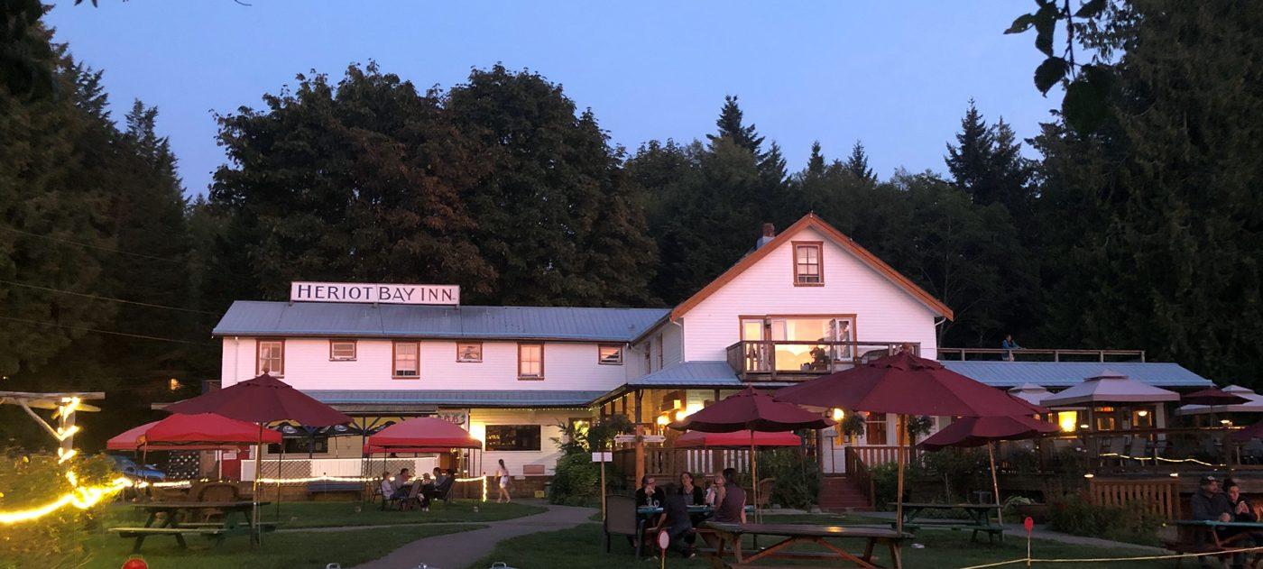 The Heriot Bay inn